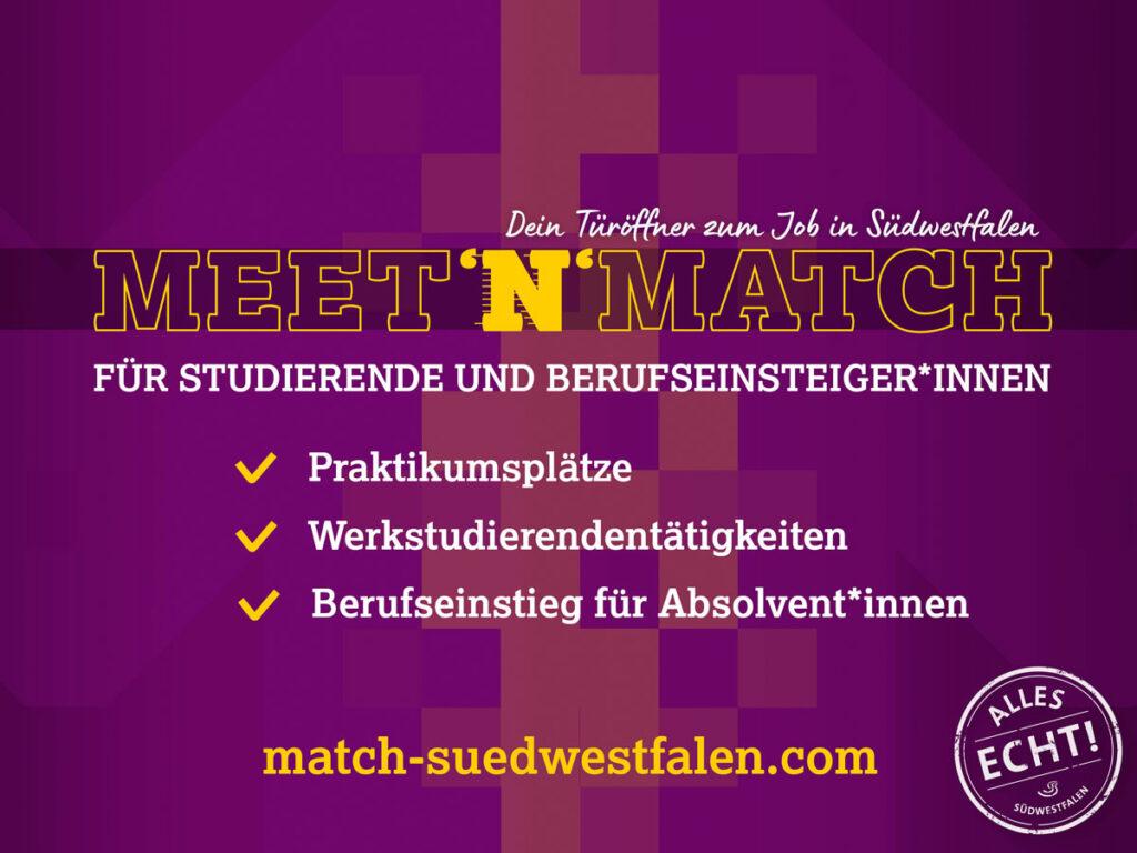 Meet`n`Match Flyer